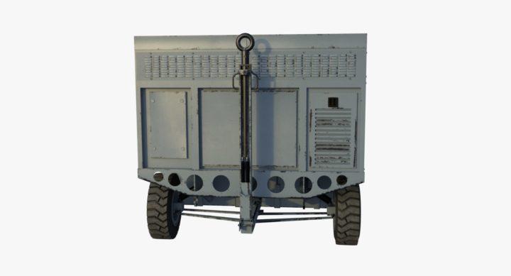 Flight Line Air Conditioner 3D Model