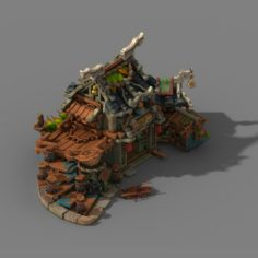 Jiaxing City – drugstore 3D Model
