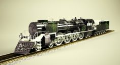 Steam_Mountain_484 MK2 3D Model