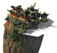 Quanzhen teach – the hall 3D Model