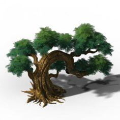 Peach Blossom Island – Plant – Tree 07 3D Model