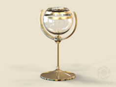 Concept Candle Holder 05 Free 3D Model