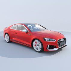 Audi RS5 Coupe (2018) 3D model 3D Model