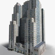 Manhattan Lexington Avenue Building 07 LOW_POLY 3D Model
