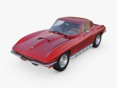 Chevrolet Corvette C2 Stingray 3D Model