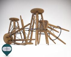 JACK stool – COLICO 3D Model