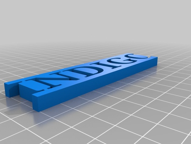 Name 3d print model 3d printer models free