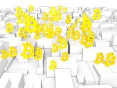 3D Bitcoin free model 3D Model