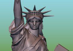 Statue of Liberty 3D print ready 3D Model