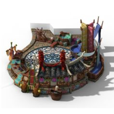 Jiaxing City – cloth shop 3D Model