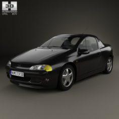 Opel Tigra 1994 3D Model