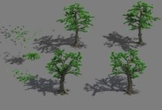 Welcoming pine 043 3D Model