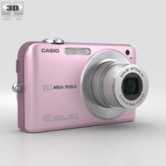 Casio Exilim EX- Z1050 Pink 3D Model