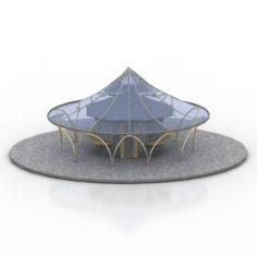 Kiosk 3D Model