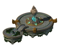 Kunlun – Square big base 01 3D Model