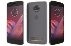 Motorola Moto Z2 Play Nimbus Gray 3D Model