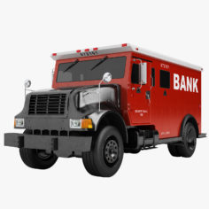 Bank Armored Truck 03 3D Model