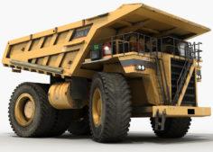 Dump Truck Monster 3D Model