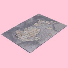 Brick Patch 3D Model