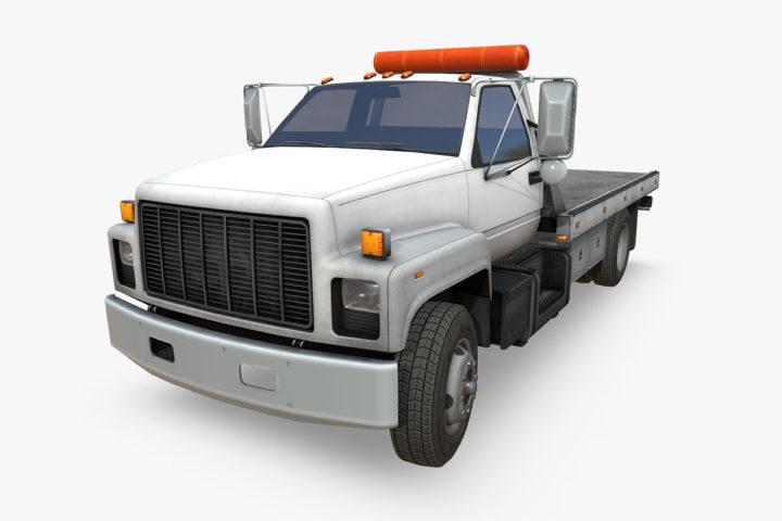 GMC Top Kick Truck 3D Model