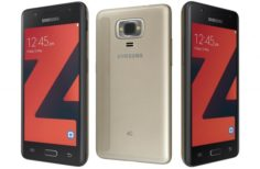 Samsung Z4 Gold 3D Model