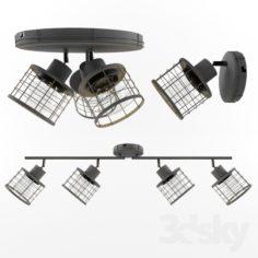 Lussole Loft Duet                                      Free 3D Model