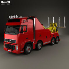 Volvo FH Tow Truck 2008 3D Model