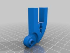 Anet A8 Y-Axis belt tensioner with Ø3mm and Ø5mm hole Zahnriemenspanner Umlenkung Y-Achse 3D Print Model