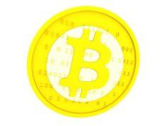 Bitcoin v1 3D model 3D Model