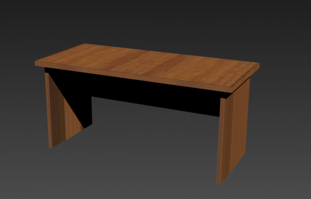 Eazy office table 3d model for Table 85 address