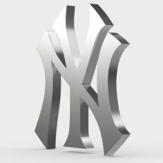 New York logo 3D Model