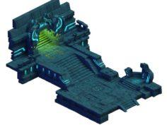 Mountain Building – Altar Entrance 271 3D Model