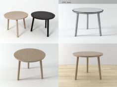 Hiroshima side table 3D Model