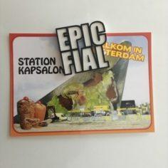 EPIC FAIL FIAL fridge magnet  3D Print Model