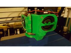 Anet A8 Remix of Extruder Fan Mod V2 by hadoko 3D Print Model