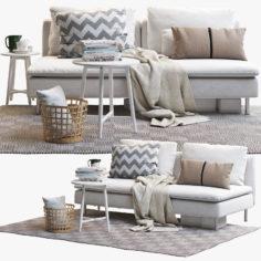 IKEA SODERHAMN Two-seat sofa 3D Model