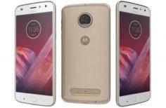 Motorola Moto Z2 Play Nimbus Gold 3D Model