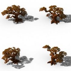 Peach Blossom Island – Plant – Tree 05 3D Model