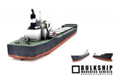 Bulkship Maverick Genesis 3D Model