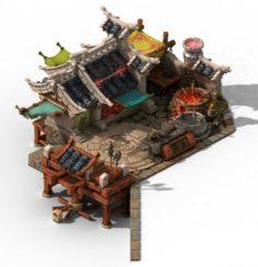 Jiaxing City – blacksmith shop 3D Model