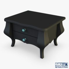 Arron Nightstand 3D Model