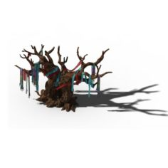 Yanmen off – worship tree 3D Model
