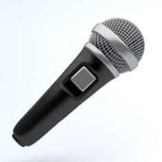 MICROPHONE icon 3D Model