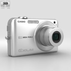 Casio Exilim EX- Z1050 Silver 3D Model