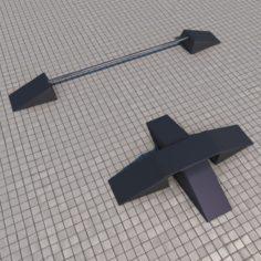 Skate ramps portable 3D Model