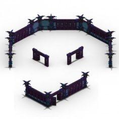 Lei Fengta – fifth floor wall 3D Model