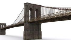 The Brooklyn Bridge 3D Model