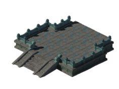 Kunlun – Square big base 02 3D Model