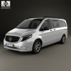 Mercedes-Benz Vito Tourer Select L2 W447 2014 3D Model