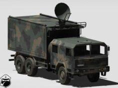NSM Mobile Communication Center 3D Model